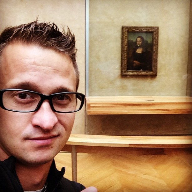 Mona Lisa - Paris - Oct, 2013
